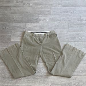 Theory corduroy pants  size 10 light tan color